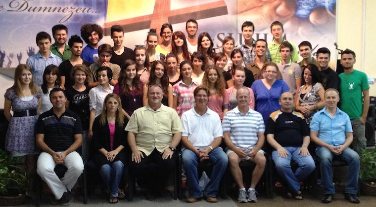 Scoala de Inchinare Class of 2012