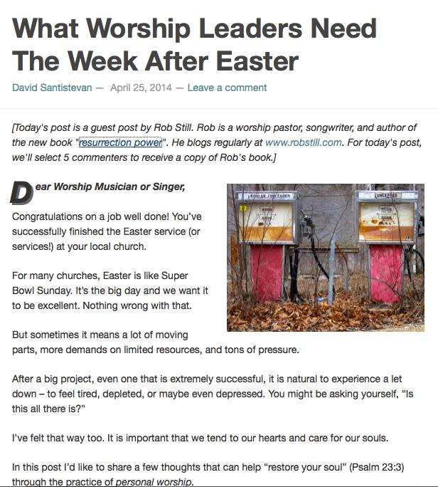 http://www.davidsantistevan.com/the-week-after-easter/